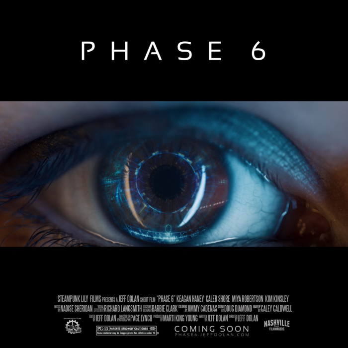 Phase 6 sci-fi shortfilm promotional image