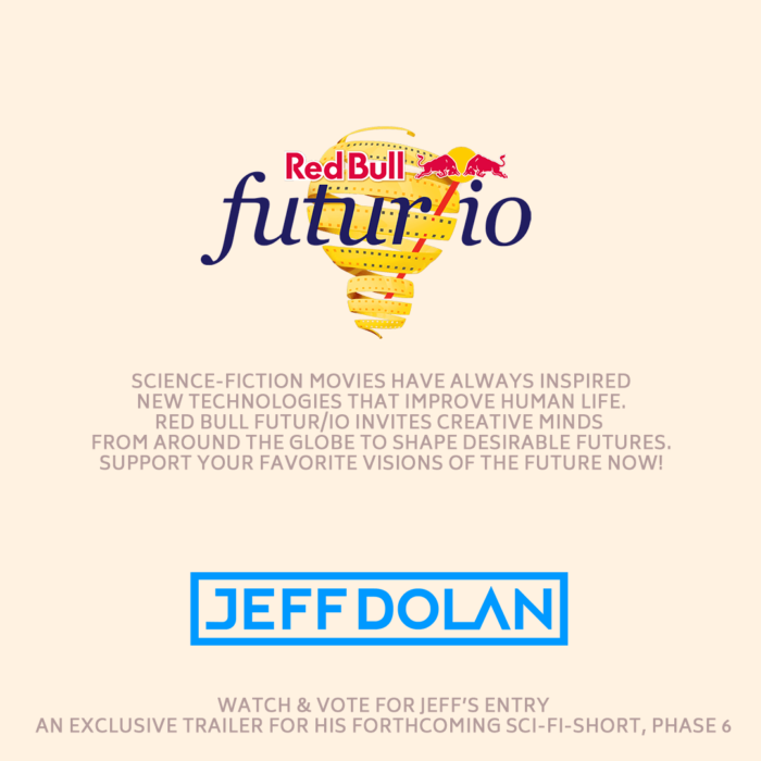 Invitation to vote in the the Red Bull Futur/io film contest