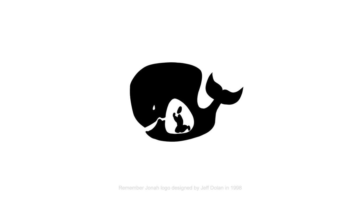 Remember Jonah logo designed by Jeff Dolan in 1998